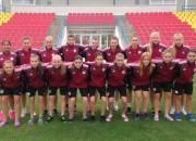 Latvijas U17 meiteņu izlasei minimāls zaudējums pret Austriju