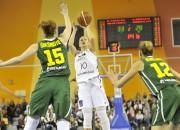 Latvija atspēlē 13 punktu starpību un trillerī uzvar Lietuvu