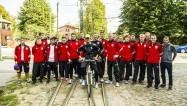 Video: Liepājā futbolu popularizēs tramvajs