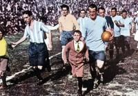 """Pirms 84 gadiem """"Centenario""""  stadionā..."""