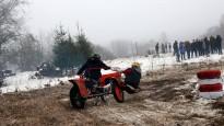 Blakusvāģu motokross ziemā