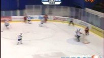 Baltkrievu hokejists iemet ripu savos vārtos
