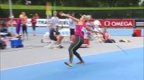 Palameika pēc piecu gadu pauzes labo Latvijas rekordu šķēpmešanā