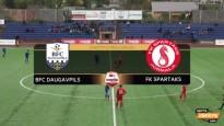 ''Daugavpils'' šokē ''Spartaku'', cīņa par čempiontitulu saasinās