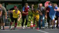 Bolts sprintā sacenšas ar TV zvaigznēm