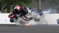 """Burdē piedzīvo šausminošu avāriju """"Indy 500"""" kvalifikācijā"""