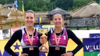 Graudiņa/Kravčenoka uzvar bronzas finālā un saņem godalgas Ukrainā