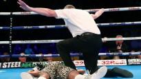 DĀR bokseris veic ātrāko nokautu titulcīņu vēsturē