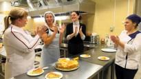 Grigorjeva Osetijā mācās pagatavot osetīnu nacionālo ēdienu