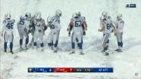 Veterāns gūst vienu no sarežģītākajiem punktiem NFL vēsturē