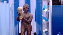 Indijā atklāj Maradonas statuju