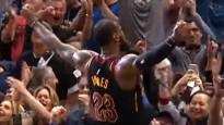 Džeimss ar pēdējā brīža metienu uzvar NBA topā