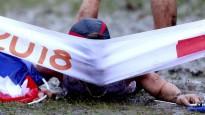 Eiropas čempions finiša lentu notriec ar galvu