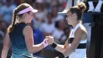 """Sakari pēc uzvaras pret Ostapenko: """"Viņa savā vecumā ir paveikusi neticamas lietas"""""""