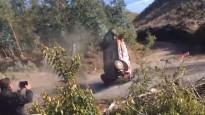 WRC līderim Noivilam smaga avārija