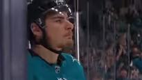"""NHL pusfinālu vārtu topā uzvar """"Sharks"""" šveicietis"""