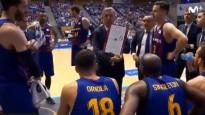 """""""Barcelona"""" treneris ar skatienu vien liek noprast, lai TV kamera vācās prom"""