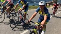 "Igaunijas prezidente pieveic 135 kilometrus garu ""Tour de France"" kalnu posmu"