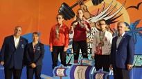 Svarcēlāja Ivanova ar U17 Eiropas rekordu izcīna zeltu