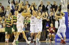 Pie pilnām tribīnēm Lietuva uzvarēta
