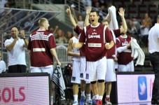 Latvija uzvar Rumāniju ar 88:65