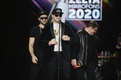 Foto: Zelta Mikrofons 2020 laureāti fotomirkļos