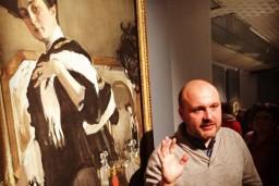 Igora Oboļenska monoizrāde ar virtuālo ekskursiju Valentīna Serova darbu izstādē