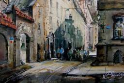 """Rolanda Bruno Butāna gleznu izstāde """"Randevu Vecrīgā Nr. 2"""""""