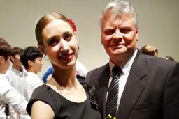 Jolanta Lubēja un Kārlis Cīrulis gūst panākumus Korejas Starptautiskajā baleta konkursā