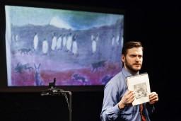 """Briseles mākslas centrā BOZAR būs skatāma Dirty Deal Teatro izrāde """"Zudusī Antarktīda"""""""