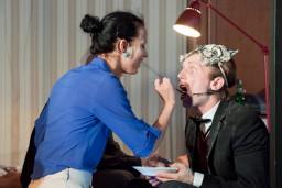 """Izrāde """"Stavangera"""" (Pulp People) atgriežas uz Liepājas teātra skatuves un tiks rādīta Starptautiskā Teātra festivālā Klaipēdā"""
