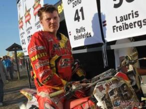 Latvijas komanda startēs PČ motokrosā MX3 klasē