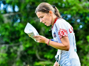 Trīs Latvijas orientieristi pārvar EČ kvalifikāciju vidējā distancē