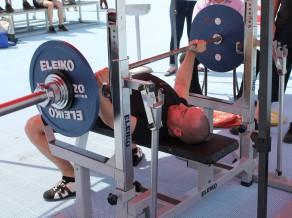 Pauerliftinga sportists Dronga izcīna bronzu Eiropas čempionātā