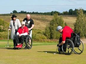 Tukuma pusē risināsies otrais adaptīvā golfa turnīrs