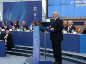 """Inspektors: """"Minskas sporta objekti pilnībā gatavi Eiropas spēlēm"""""""