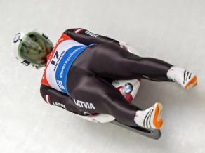 Kamaniņu braucējai Caucei tikai 19.vieta Pasaules kausa posmā Oberhofā