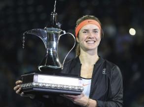 Svitoļina Dubaijā izcīna karjeras nozīmīgāko titulu un nodrošina Top 10 debiju