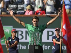 Federers piekto reizi triumfē Indianvelsā, iegūst 90. ATP titulu