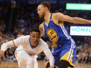 """""""Warriors"""" vēlreiz pieveic """"Thunder"""", Hārdenam uzvaras grozs pret Denveru"""