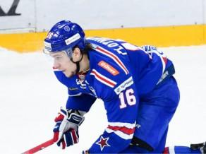 Vienam no SKA rezultatīvākajiem spēlētājiem Plotņikovam diskvalifikācija