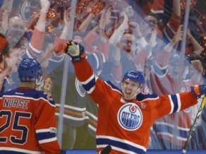 """""""Oilers"""" divi vārti mazākumā, Monreāla izglābjas, """"Blues"""" otrā uzvara viesos"""