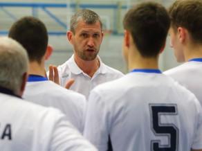 Latvijas kadetu izlase volejbolā pārspēj Ukrainu