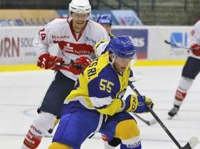 Zlīnas sāpīgā zaudējumā rezultatīvi visi trīs latvieši, Siksnam vārti VHL
