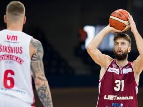 Peiners debitē ar 14 punktiem, Štālbergam uzvara sezonas pirmajā spēlē Lietuvā
