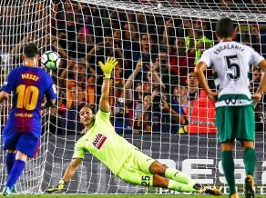 """Mesi ceturto reizi karjerā gūst četrus vārtus """"La Liga"""" spēlē"""
