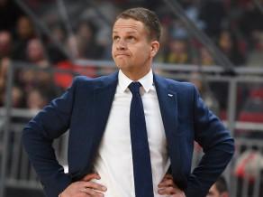 """Gailītis: """"CSKA spēlēja agresīvi, bet mēs neizmantojām savas iespējas"""""""