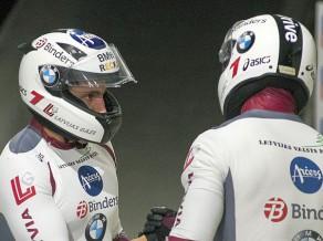 Melbārdim un Dreiškenam pirmais PK pjedestāls olimpiskajā sezonā