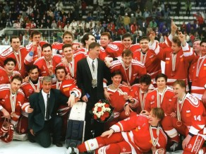 Bez valsts, karoga un himnas, bet ar zeltu - Krievijas hokeja 1992. gada pieredze