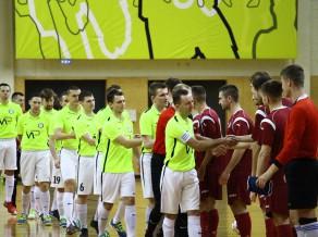 """FC """"Petrow"""" negaidīti zaudē Daugavpilī un izstājas no Latvijas kausa izcīņas"""